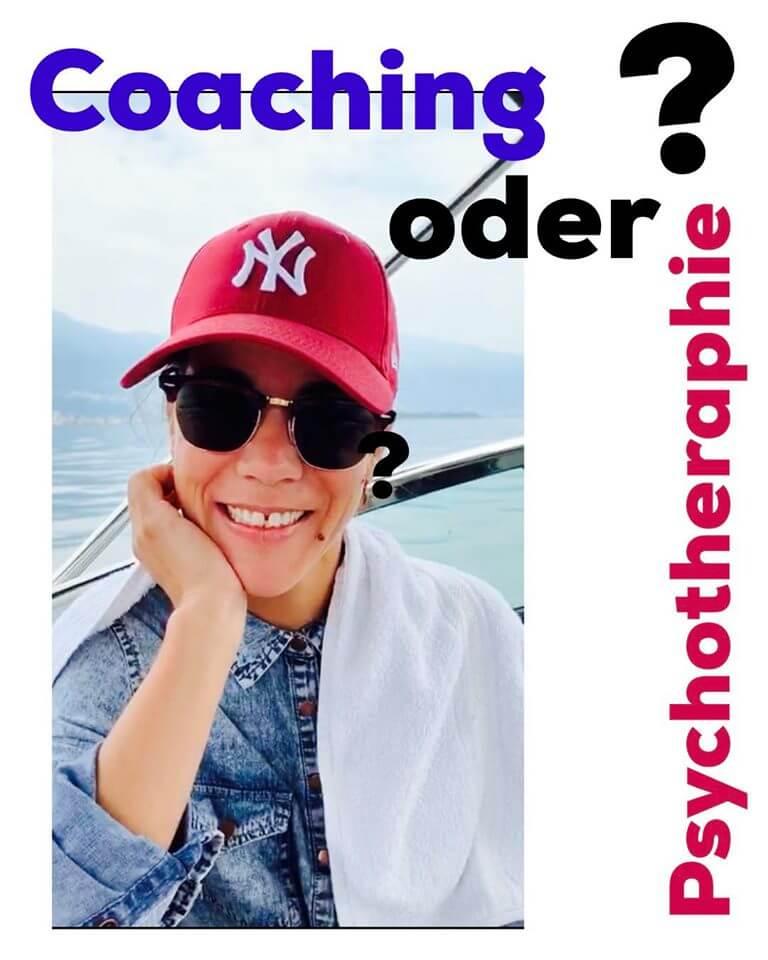 Wie unterscheiden sich Coaching von Psychotheraphie?