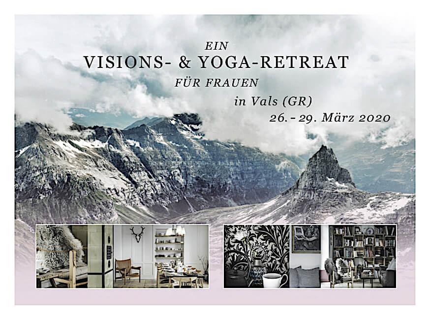 Ein Visions & Yoga Retreat für Frauen März 2020